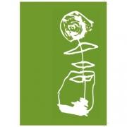 Ruusu mummulle vihreä 2 os. Keihan Ajdari
